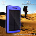 Promotional high quality usb 10000mah solar power bank