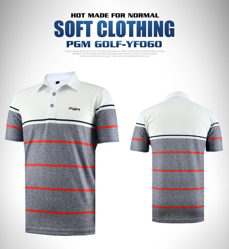 High quality!2017 PGM men golf shirts short sleeve summer sports fabric T shirt golf training apparel quick dry top clothes brand polo golf v short sleeve shirt golf sportswear outdoor wear lady golf apparel fashion summer clothing quick dry new tshirt