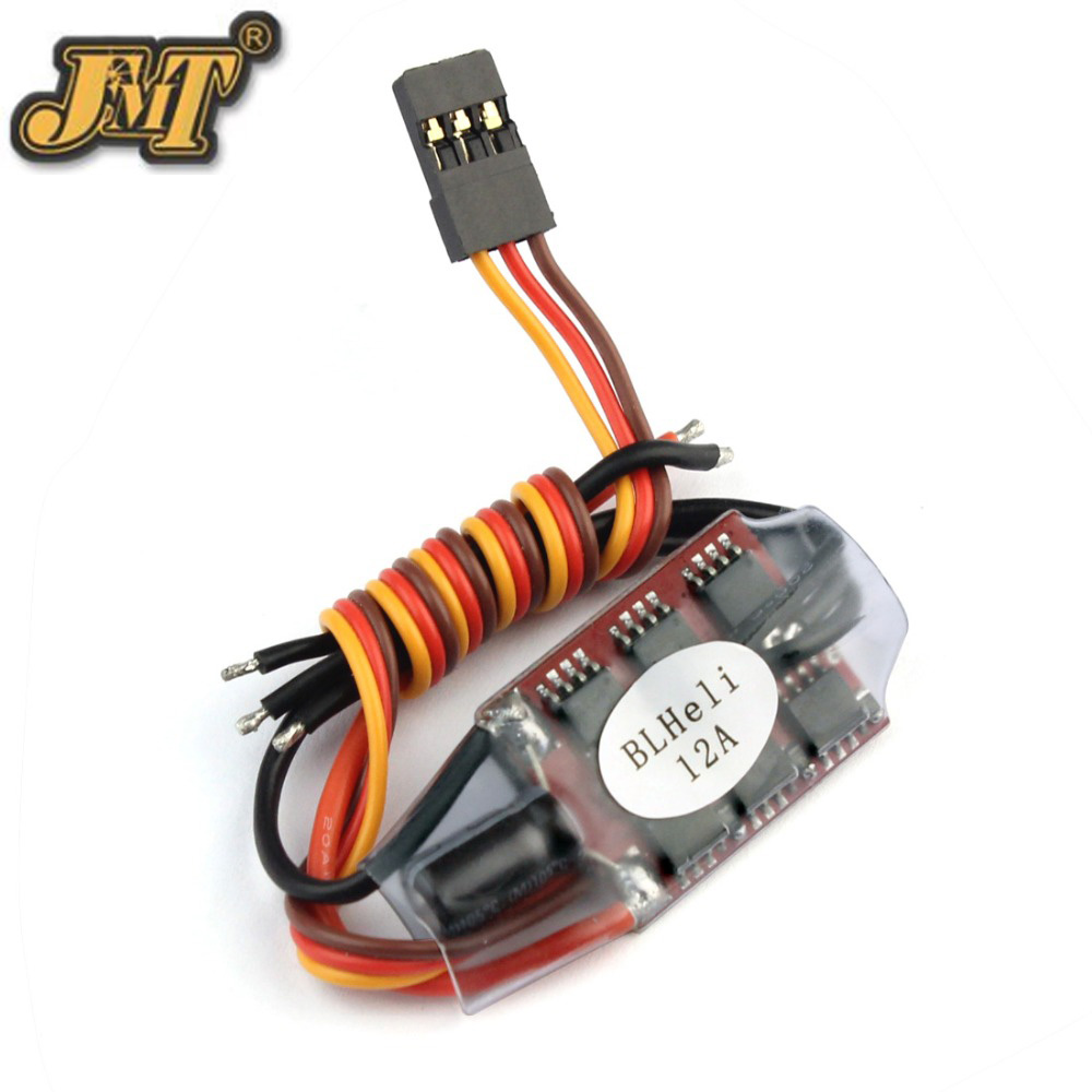 BLHELI 12A Mini Brushless Motor ESC BLHELI 14.2 2-3S For 160-250 Multirotor FPV Racing RC Drone Quadcopter 4pcs 12a mini blheli brushless esc pwm 1 3s speed controller for qav250 diy rc quadcopter multicopter 250 drone zmr250