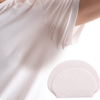 200X 100 Pairs Summer Deodorants Cotton Pads Underarm Armpit Sweat Pads Dress Disposable Stop Sweat Shield