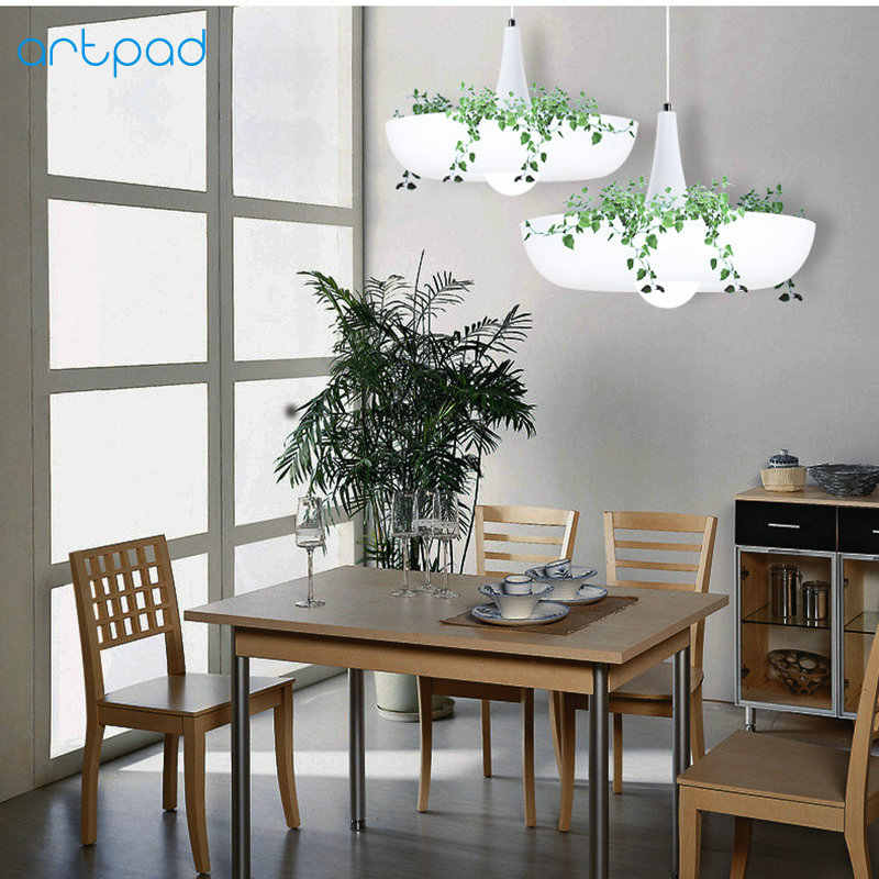 Artpad скандинавский Вавилон завод подвесной светильник AC90-260v E27 светодиодный подвесной светильник для гостиной и сада для столовой балкон светильник ing