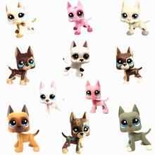 LPS Pet Shop Toys Cute Short Hair Cat  Great Dane  Rare Full Set Of Classic Pet Dog Cosplay Action Figure Children Gift недорго, оригинальная цена