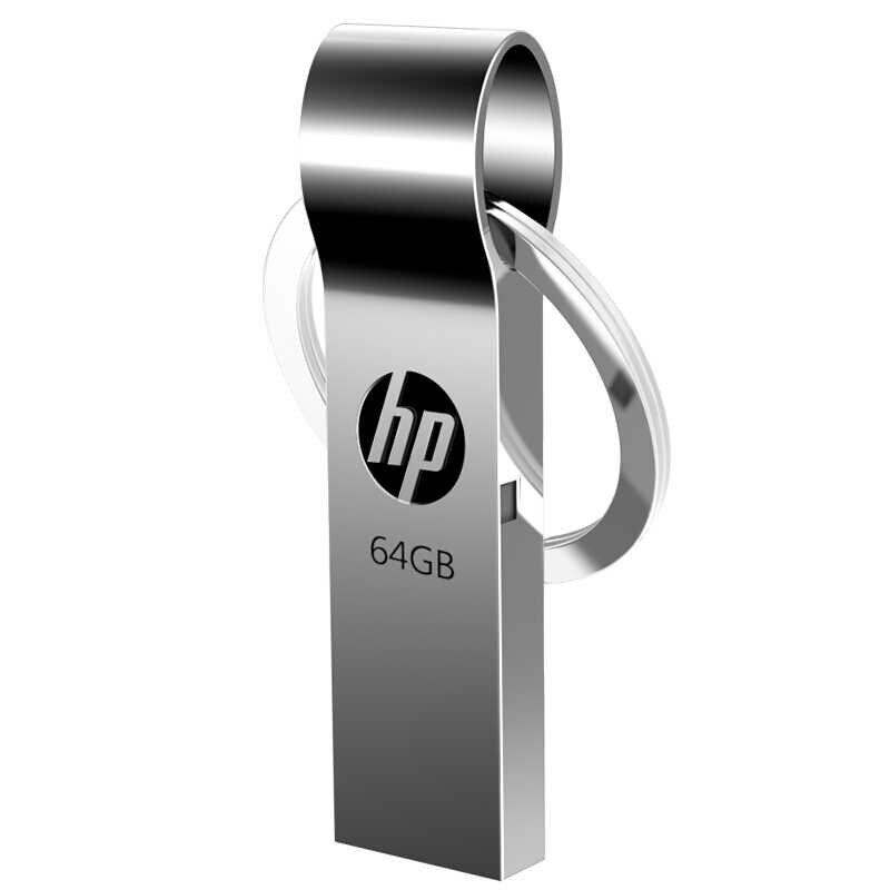 Oryginalny HP usb flash jazdy cle usb 16 gb 32 gb 64 gb pamięci klucz usb pierścień metalowe Pendrive najnowszy brelok usb długopis jazdy Dropshipping