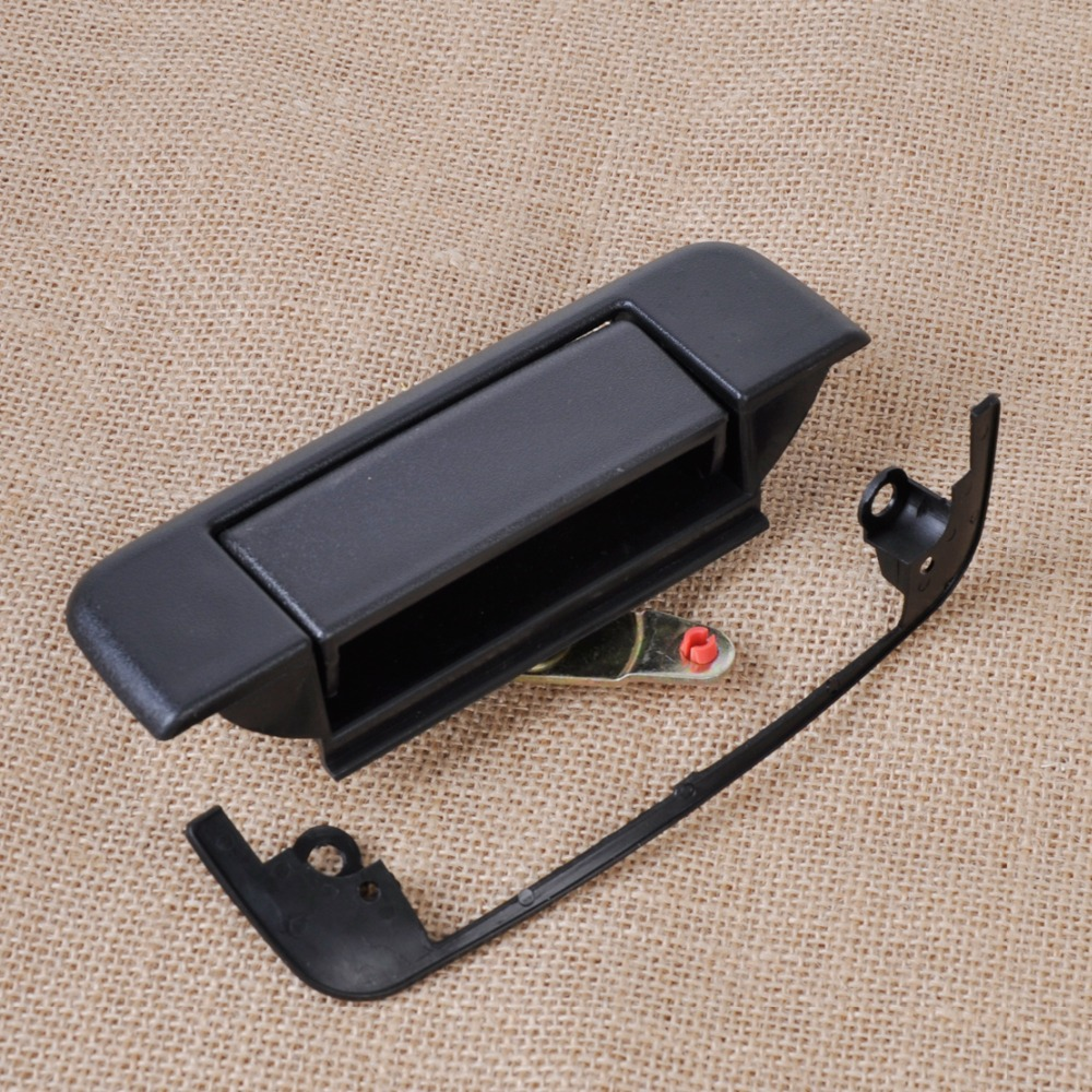 Dwcx black exterior outside tailgate latch door handle 6922089111 for toyota pickup 1989 1990 1991 1992