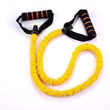 The rope stretch yoga chest body function is pull resistance exercise fitness equipment on the