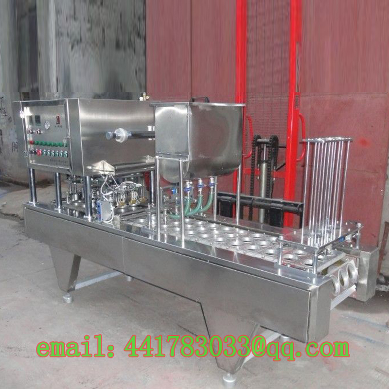 FGJ-XL60 custom continuous capping machine automatic cup sealer trays cup sealing machine automatic cup sealer Stainless steel