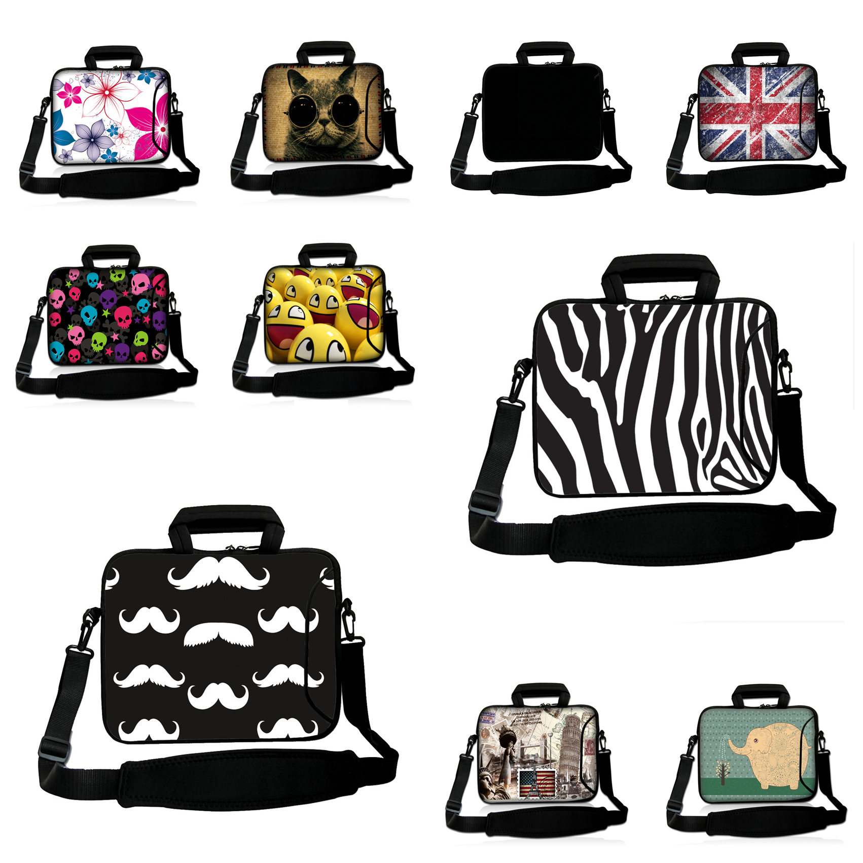 Shockproof Portable Notebook Computer Bag For Women And Men 13.3 Protector Neoprene Briefcase For Mac Book Air/Pro Retina 13