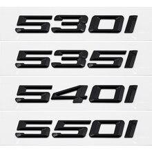 Для BMW 530I 535I 540I 550I 630I 640I 645I 650I G30 G38 F10 F11 F15 декоративные аксессуары для багажника автомобиля наклейки значок Автомобильная эмблема