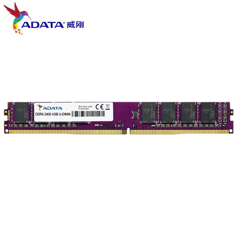 купить ADATA 1.2V DDR4 2400Mhz 2133Mhz 4GB 8GB Computer Desktop PC RAM U-DIMM Lifetime Game Memory RAMs 288 Pin PC4-17000 PC4-19200 New по цене 3969.69 рублей