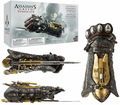 1/1 assassins Creed Cosplay Armas Manopla Do Sindicato com Lâmina Escondida Avec Coxo Secretam Action Figure Modelo de Brinquedo Colecionáveis