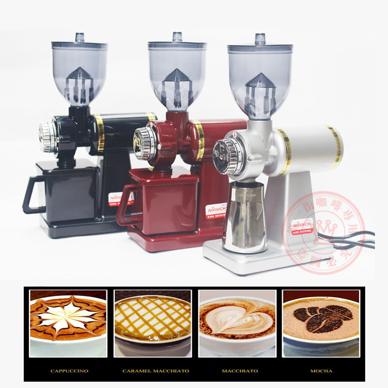 M520-A Electric Household/ Commercial Coffee Grinder Coffee Beans Grinder Burr Coffee Grinders 454g bag commercial coffee beans powder green slimming coffee beans tea