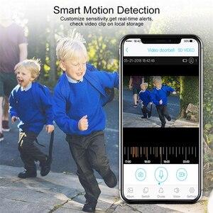 Image 5 - HD 720P kablosuz ip kamera su geçirmez şarj edilebilir pil Powered CCTV Wifi kamera akıllı ev mobil görünüm PIR Alarm bebek izleme monitörü