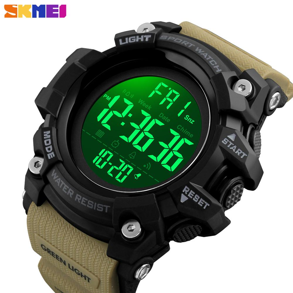 <font><b>SKMEI</b></font> Luxury Brand Outdoor Men Sport Chrono Watch Fashion Countdown Waterproof Clock Military Digital Wristwatches Montres Homme image