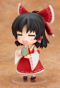 Image 5 - New Arrival 10cm Anime Action Figure Touhou Project Cartoon Hakurei Reimu 74# PVC Model Collection Cute 4 Mini Doll 1/10 Scale