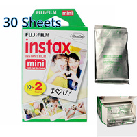 Fujifilm Instax Mini White Film 30 Sheets for Fujifilm Fuji Instant Camera Mini 7s 8 25 25i 50s 90