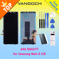 Original Lcd For Samsung Note 8 Lcd Display Touch Screen Digitizer Assembly For Samsung Note8 N9500