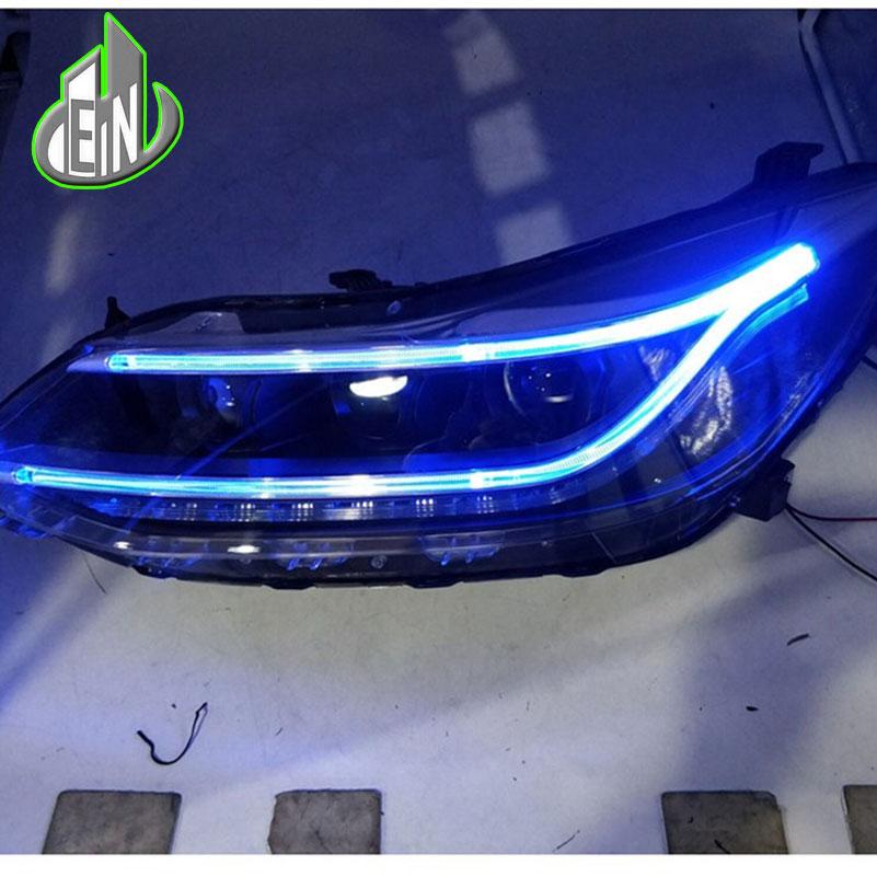 Car styling Headlamp For CHEVROLET CRUZE headlights 2017 LED head lamp C Angel eyes DRL front light Bi-Xenon Lens xenon HID