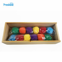 Baby Kids Toys Wood Colorful Ball Froebel Gabe 1One Preschool Training Learning Educational Brinquedos Juguets