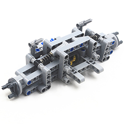 MOC Technic Parts 96pcs Back Suspension System Compatible With Lego For Kids Boys Toy NOC-TSMA96