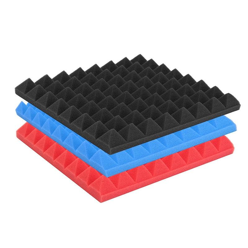 2pcs! 30X30X2CM Egg Crate Acoustic Foam Panels Wall Soundproofing Tile For Recording Studios Control Rooms Vocal Pavilion Decor