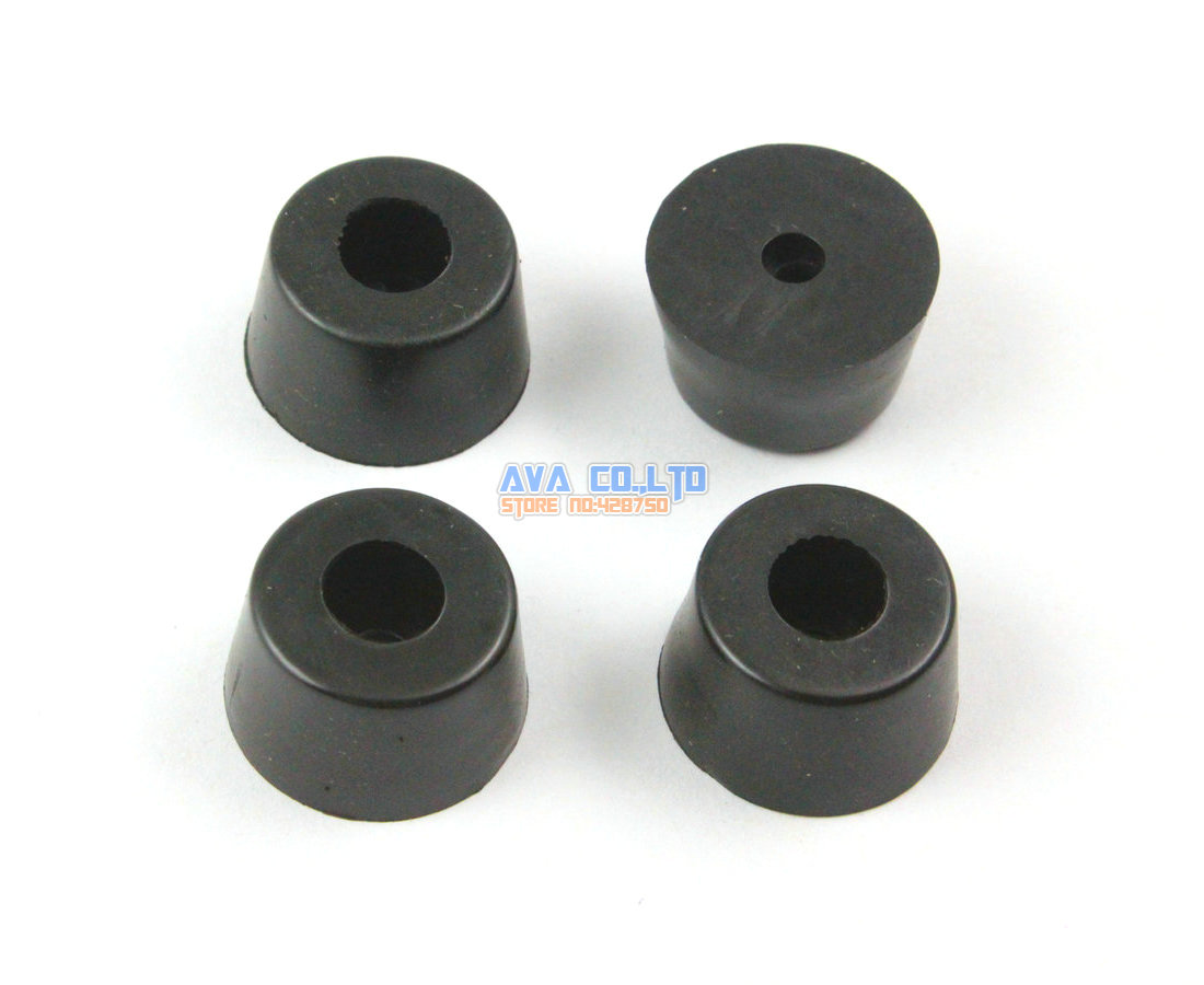 48 pieces 21x15x12mm rubber feet pad furniture chair leg protector glide pad