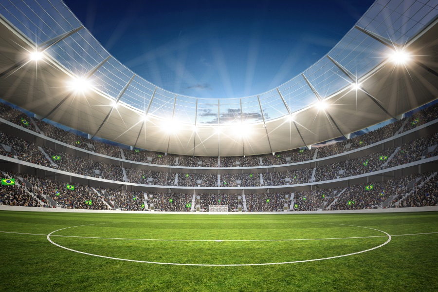 Laeacco Football Stadium Spotlight View Of The Stands Scenic Photographic Background Wall Photography Backdrops For Photo Studio in Background from Consumer Electronics