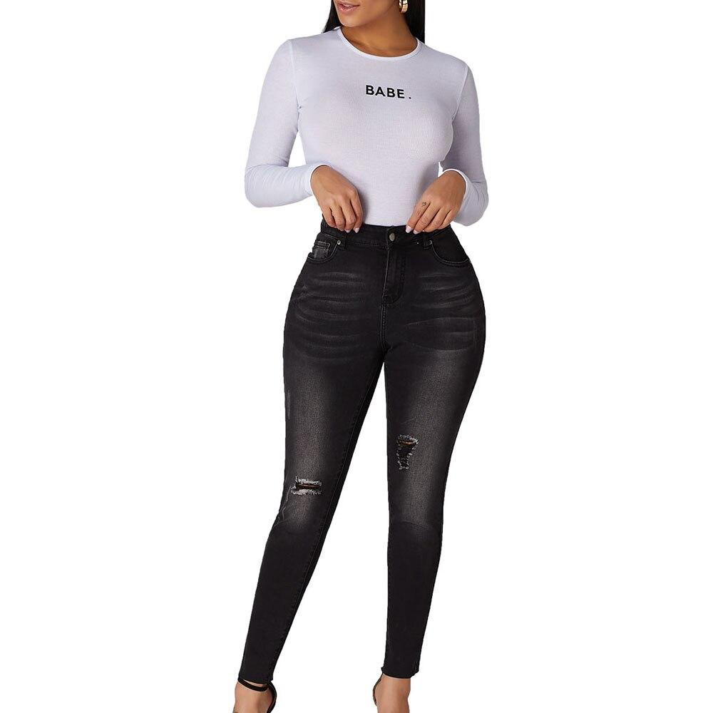 5 blue Pantalon Lc786035 Difficulté Skinny Jeans Black Bleu Denim 2019 Patron Un Stretch Camo Ripped Femme En Comme Pour pwaxOUZq