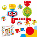 Lovely Portable Bath Tub Toy Water Sprinkler System Children Kids Toy Gift Funny Bathing Toys Waterproof in Tub Baby Bath toys G