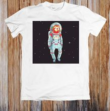 SPACE SLOTH ASTRONAUT UNISEX T-SHIRT Hot Sell 2018 Fashion  T Shirt Short Sleeve Tricolor New Shirts Funny Tops Tee