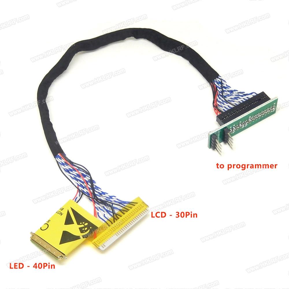 Led Lcd 2 In 1 Edid Notebook Lcd Bildschirm Code Chip Daten Lesen Kabel Für Rt809f Rt809h Ch341a Tl866cs Und Tl866a Programmierer