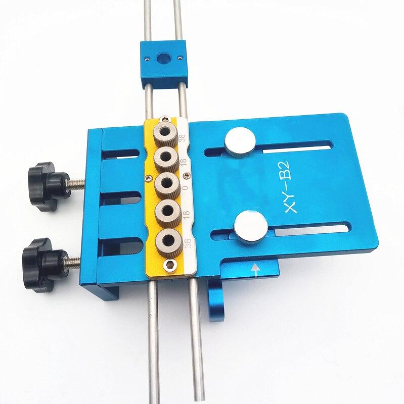 Nuovo Aggiornato Alta Precisione Dowelling Jig, strumenti di lavorazione del legno FAI DA TENuovo Aggiornato Alta Precisione Dowelling Jig, strumenti di lavorazione del legno FAI DA TE