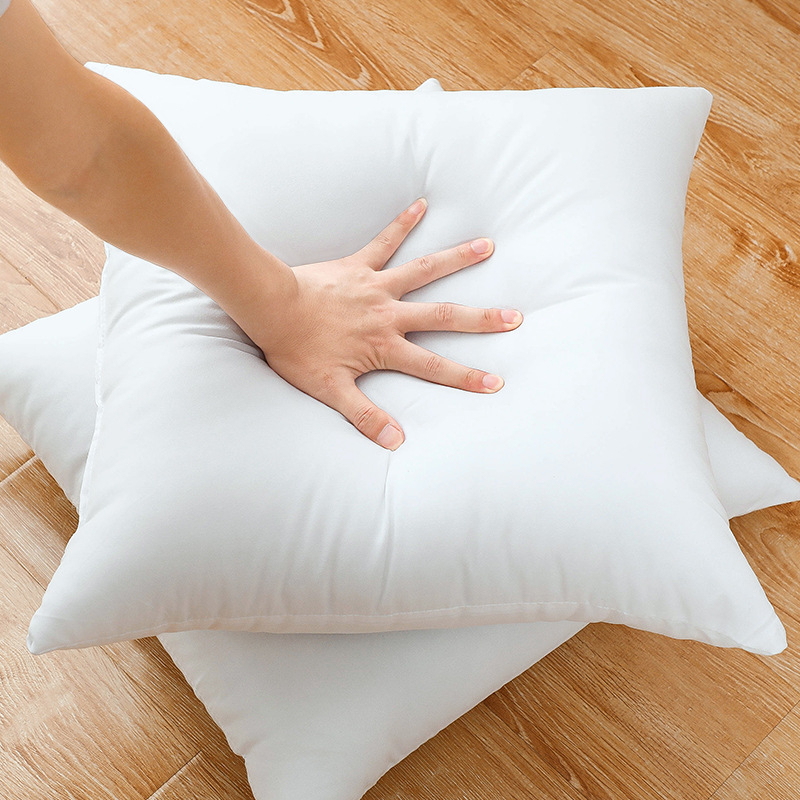 1PC Classic 10 size Solid Pure Cushion Core Funny Soft Head Pillow Inner PP Cotton Filler Customized Health Care Cushion Filling