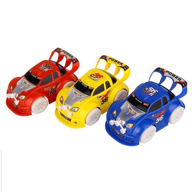 Funny Flashing Music Racing Car Electric Automatic Toy Birthday Gift For Boy Kid