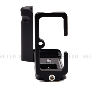 Image 4 - SETTO Quick Release L Plate / L Bracket for Fuji Fujifilm X T3 XT3 XT 3 Vertical Shoot Quick Release Plate Hand Grip Holder