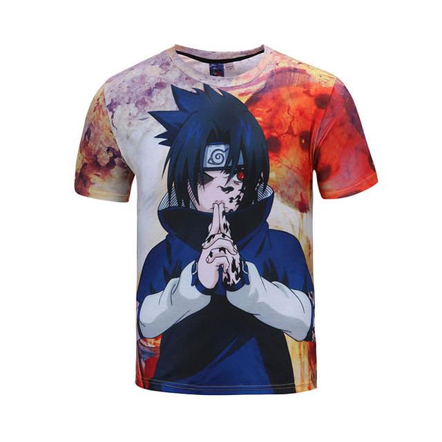NARUTO 3D Anime T Shirts Harajuku
