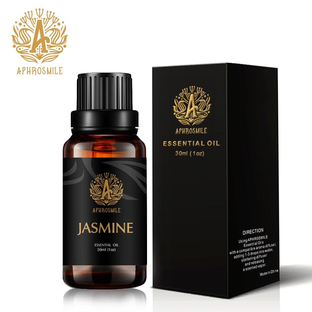 Natural Jasmine Essential Oil 30ml 100% Plant Massage Oil Improve Dryness Skin Sooth Mood Jasmine Perfum Oil Free Shipping