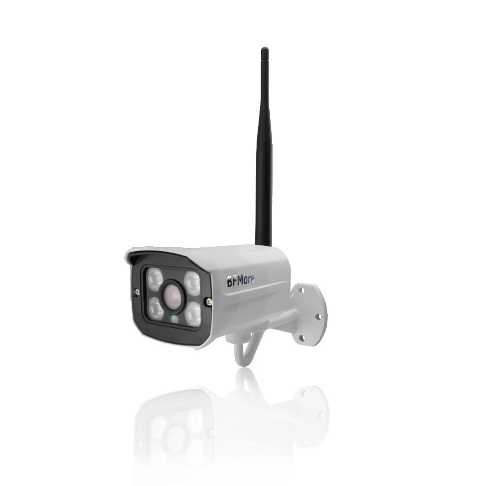 WiFi wireless 1080P HD surveillance IP camera Onvif H 264 P2P Audio microphone night vision infrared