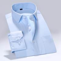 2017 Brand New Men Solid Shirt Male Dress Shirts Men S Fashion Casual Long Sleeve Business