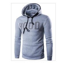 2017 Hoodies Men Sudaderas Hombre Hip Hop Mens Brand Letter Hooded Zipper Hoodie Sweatshirt  Slim Fit Men  XXXL