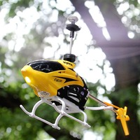 SYMA 2CH Mini RC Helicopter With Gyroscope By Rock Indoor Outdoor Kids Children Remote Control Toys