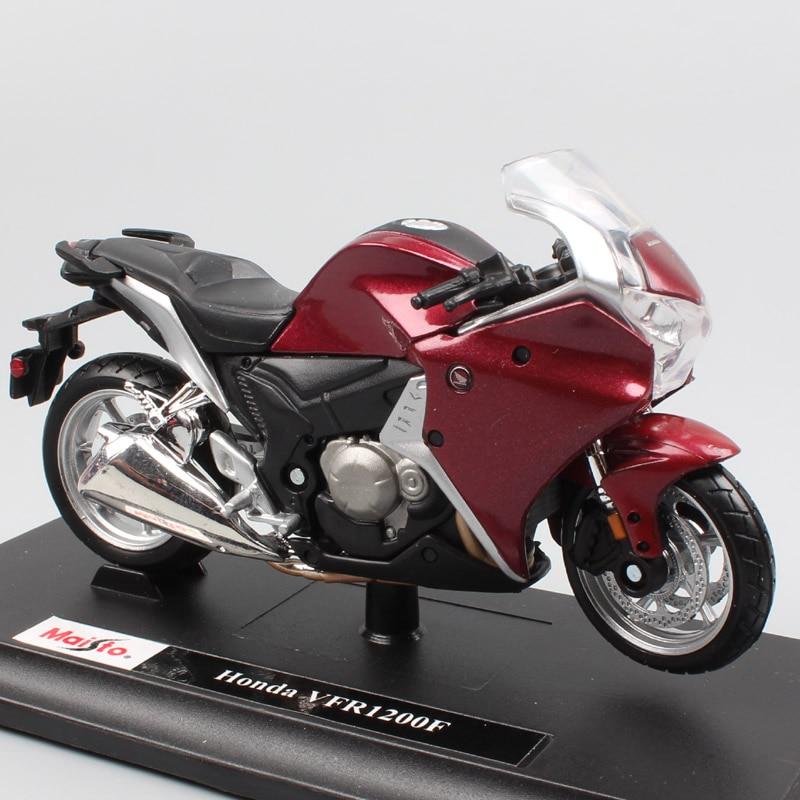 1:18 Scale Maisto Honda VFR1200F VF VFR1200X Crosstourer DCT Sport Tour Bike Motorcycle Racing Diecasts & Toy Vehicles Model Boy