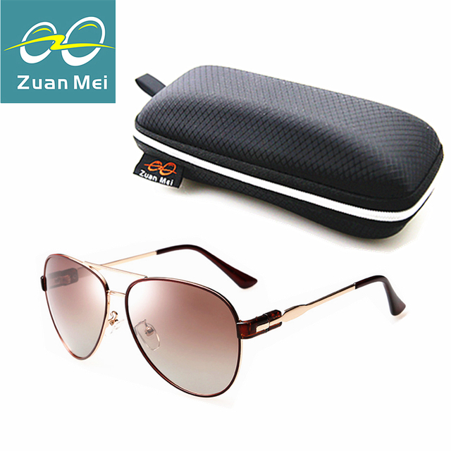 Zuan Mei Luxury quality Polarized Sunglasses Women Brand Designer Aviation Glasses Women Vintage Sun Glasses For WomenR2878