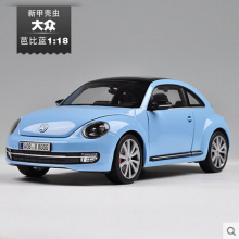 Volkswagen New Beetle welly FX 1 18 Original simulation alloy car model Classic cars girlfriend gift