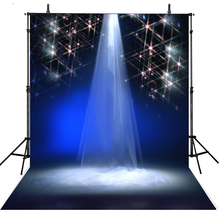 Stage Photography Backdrops Lighting Vinyl Backdrop For Photography Sparkle Background For Photo Studio Foto Achtergrond цены онлайн