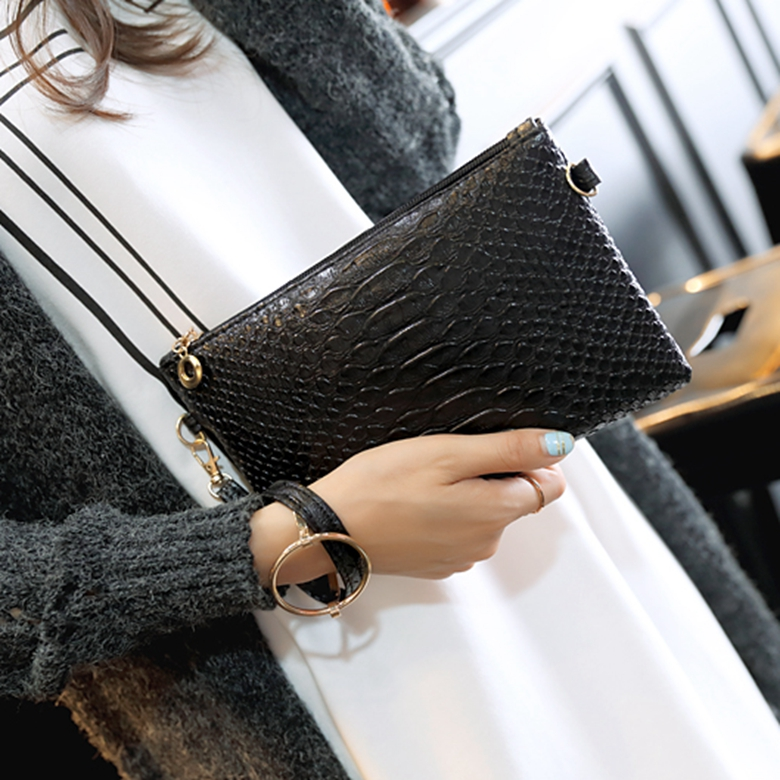 ICEV new fashion alligator mini wallets women coins bags for girls purse and handbag ladies day clutch shoulder bag bolsos mujer