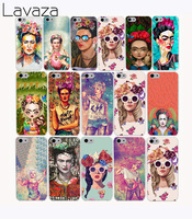Lavaza 1198G Nueva Frida Kahlo Art Design fundas Hard Case for iphone 6 plus case cover coque for apple iphone 6 plus case