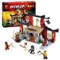 Bela 10319 enfrentamiento dojo ninja jouet de ninjagoed 70756 diy juguetes educativos para niños