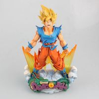 NEW hot 23cm dragon ball Super saiyan Son Goku Kakarotto Action figure toys collection doll Christmas gift no box