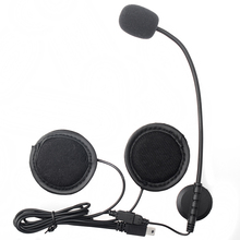 2017 Updated !V8 Accessories Earphone Microphone Suit for V8 Motorcycle Helmet Headset Intercom Accessories