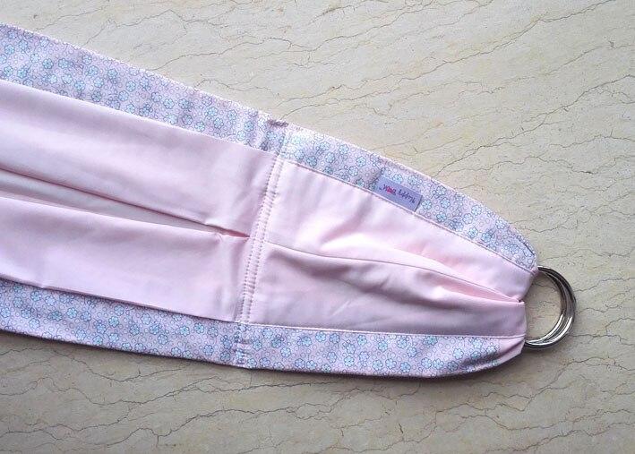 Регулируемая Детская сумка-кенгуру для детей с кольцом metel лучший подарок для ребенка один размер - Цвет: pink